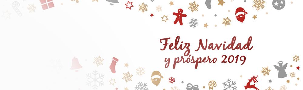 Feliz Navidad y año 2019
