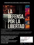 Presentación del documental -La defensa por la libertad-. León, 20 de junio de 2019.