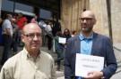 Trabajadores de Justicia piden la dimisión de Gallardón , que